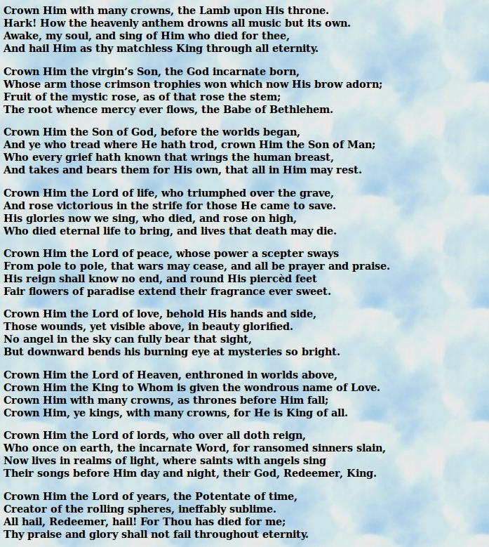 crown_him_with_many_crowns_lyrics